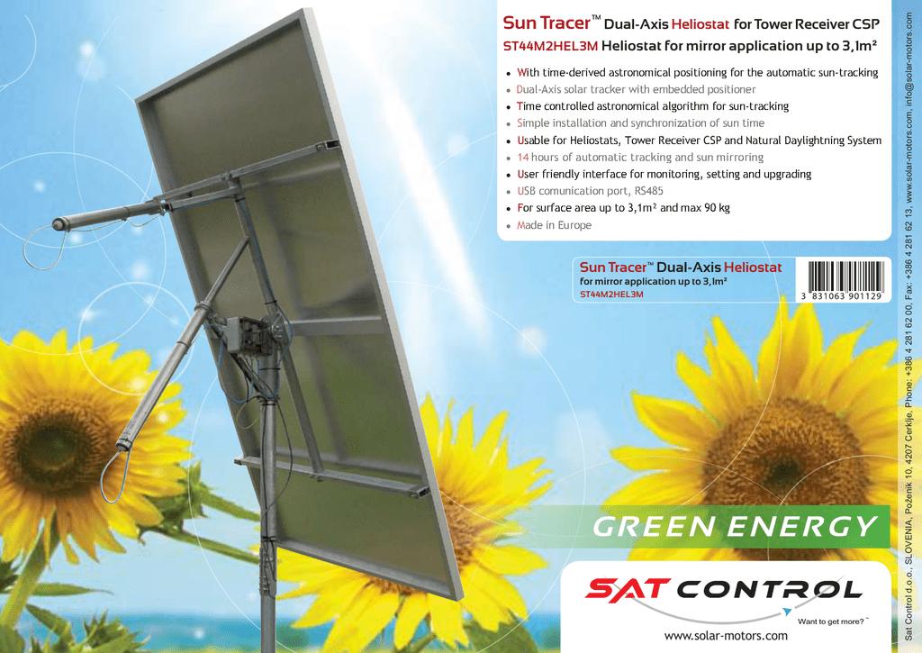 Sun Tracer Dual-Axis ² | manualzz com