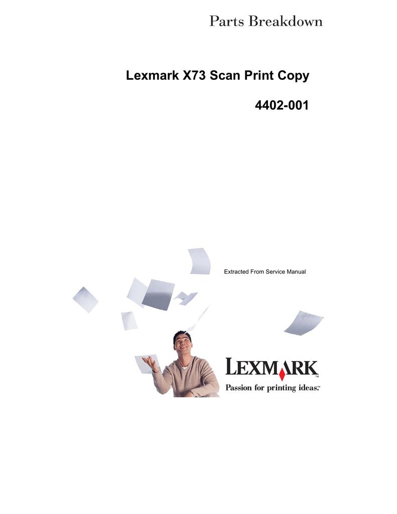 lexmark x6170 user guide
