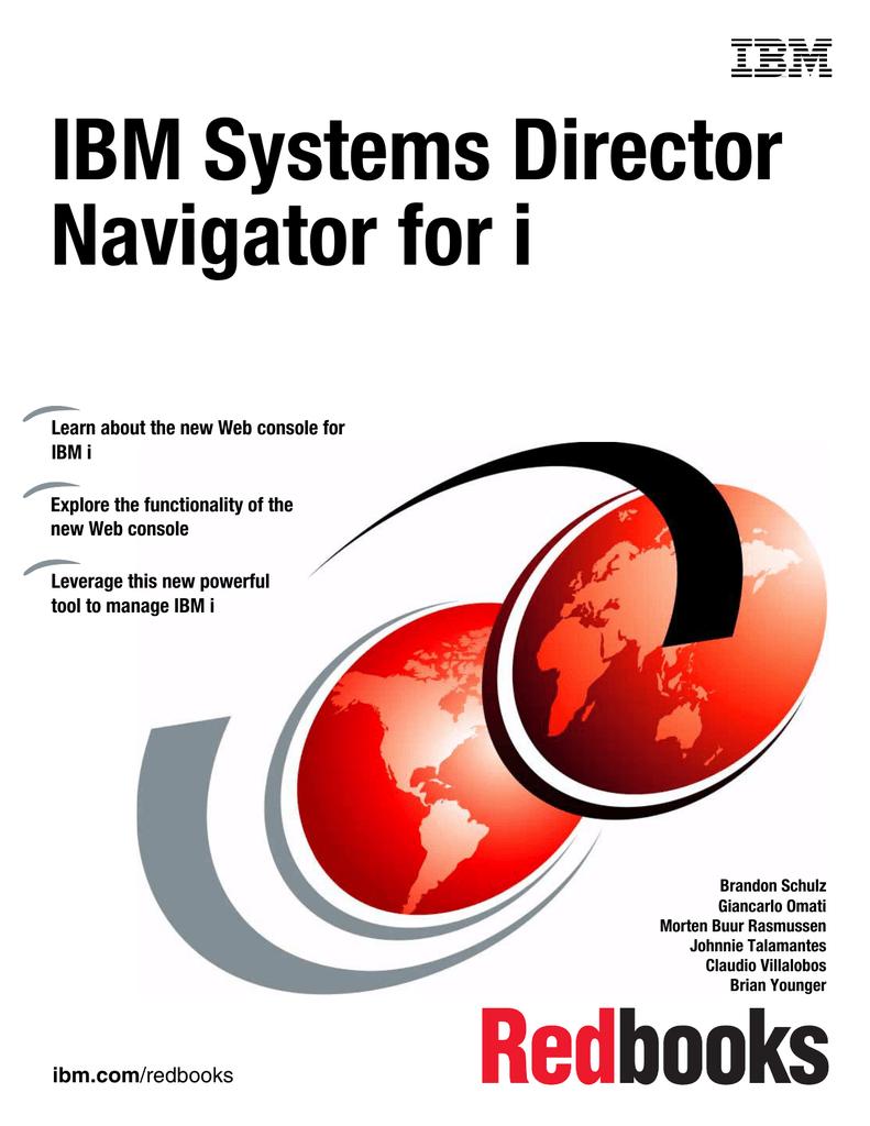 IBM Systems Director Navigator for i Front cover | manualzz com