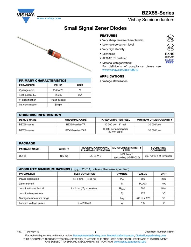 25x Z-Diodo 18 VOLT//0,5 Watt bzx55c18 Zener