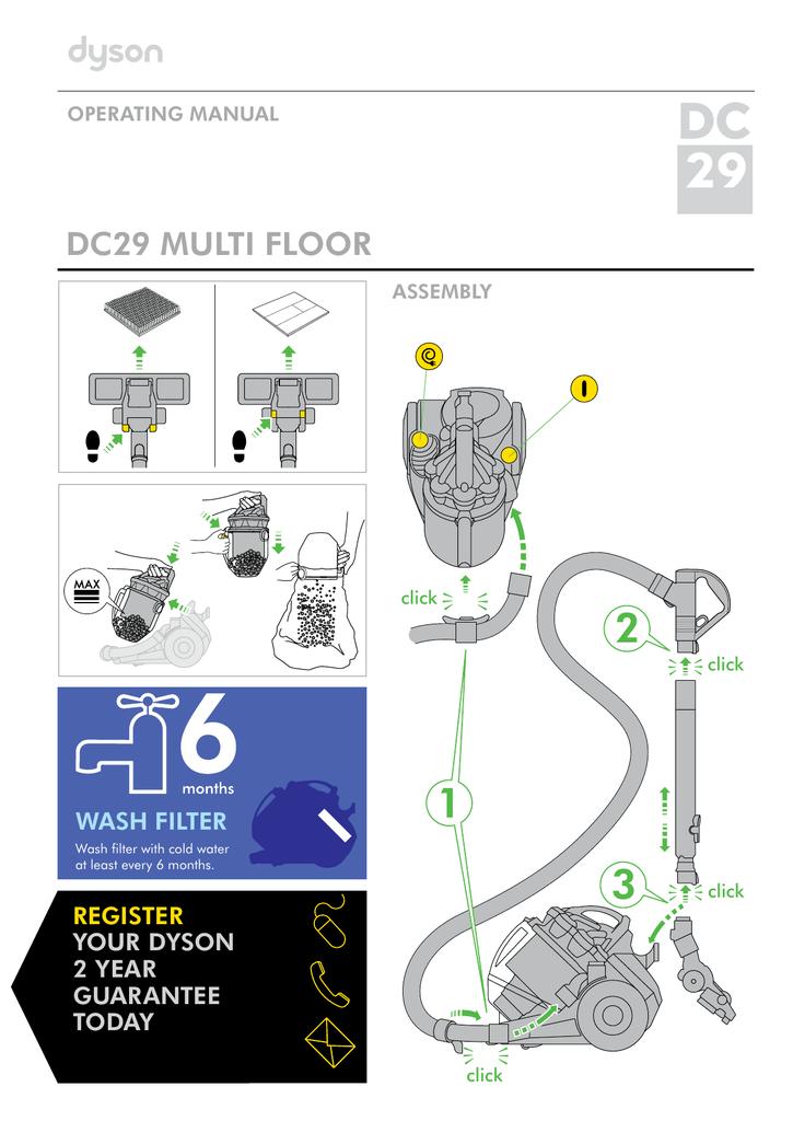 Dyson ds29 инструкция пылесос дайсон интернет магазине