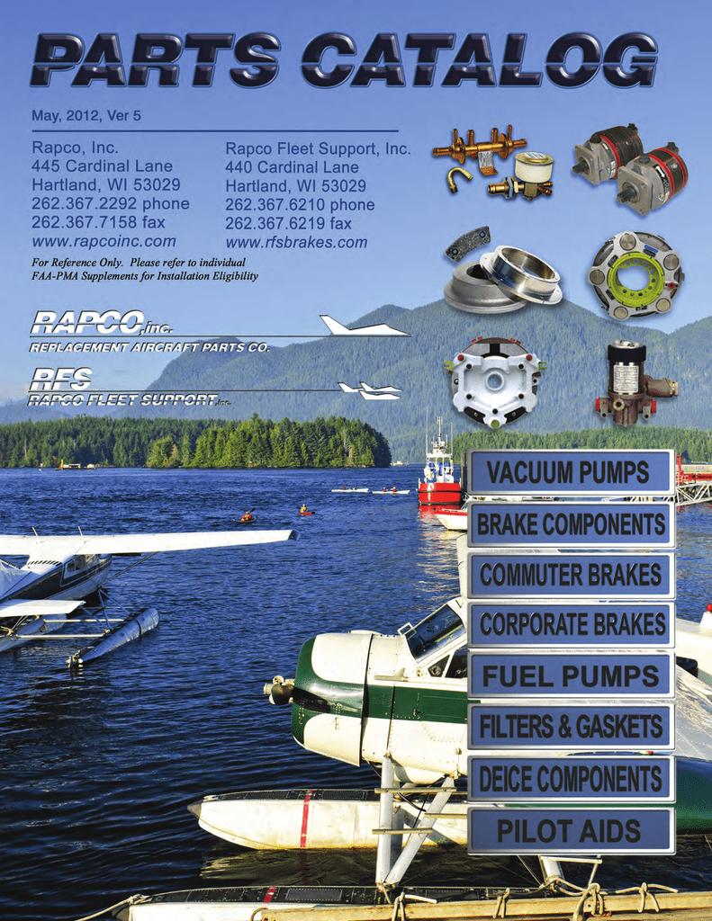 NEW BRAKE DISC RA164-02601 Socata Cessna 164-02601