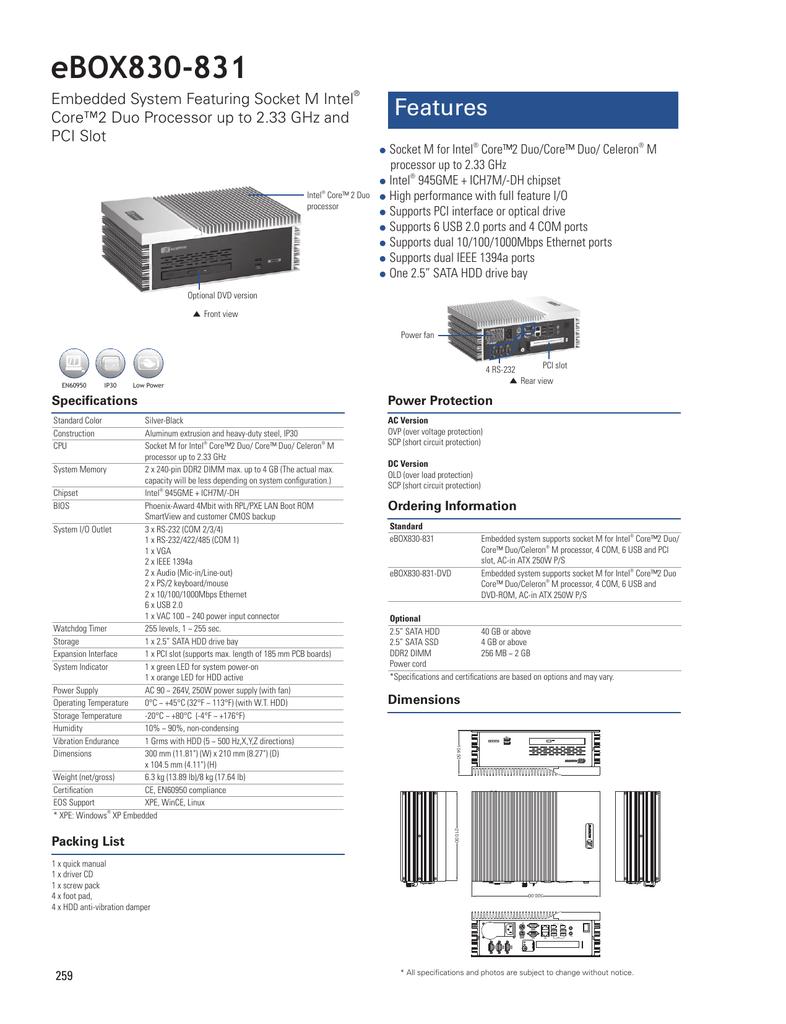 eBOX830-831カタログ(PDF 357KB) | manualzz com