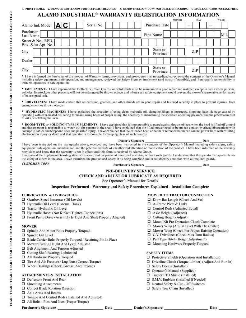 AC 48 & 60 Flail - Operator's | manualzz com