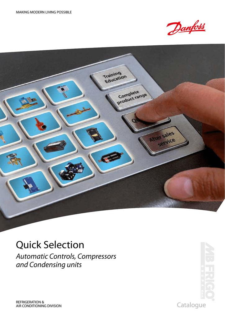 Danfoss Refrigeration new catalog | manualzz com