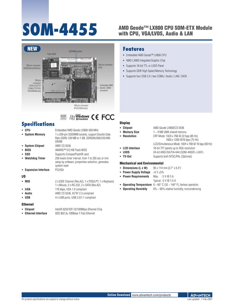 ADVANTECH SOM-4455 AMD CHIPSET WINDOWS 8.1 DRIVER DOWNLOAD