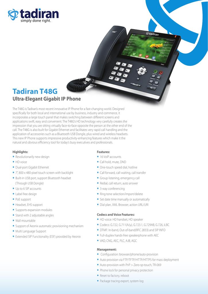 Tadiran t48g | manualzz com