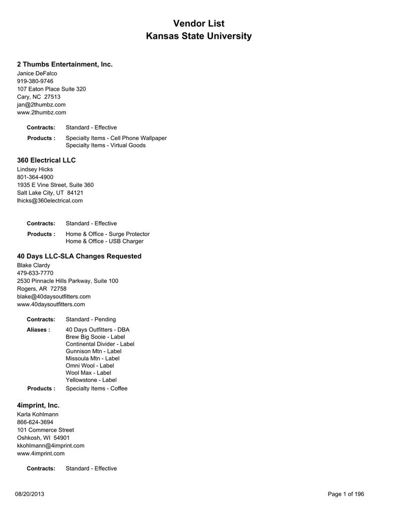 f0d6923fb Licensee List | manualzz.com