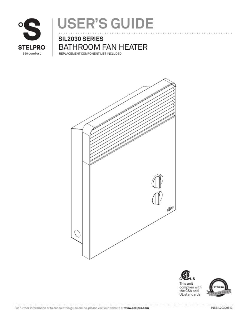 Stelpro Bathroom Fan Wiring Diagram Trusted Diagrams Baseboard Heater Trouble Shooting