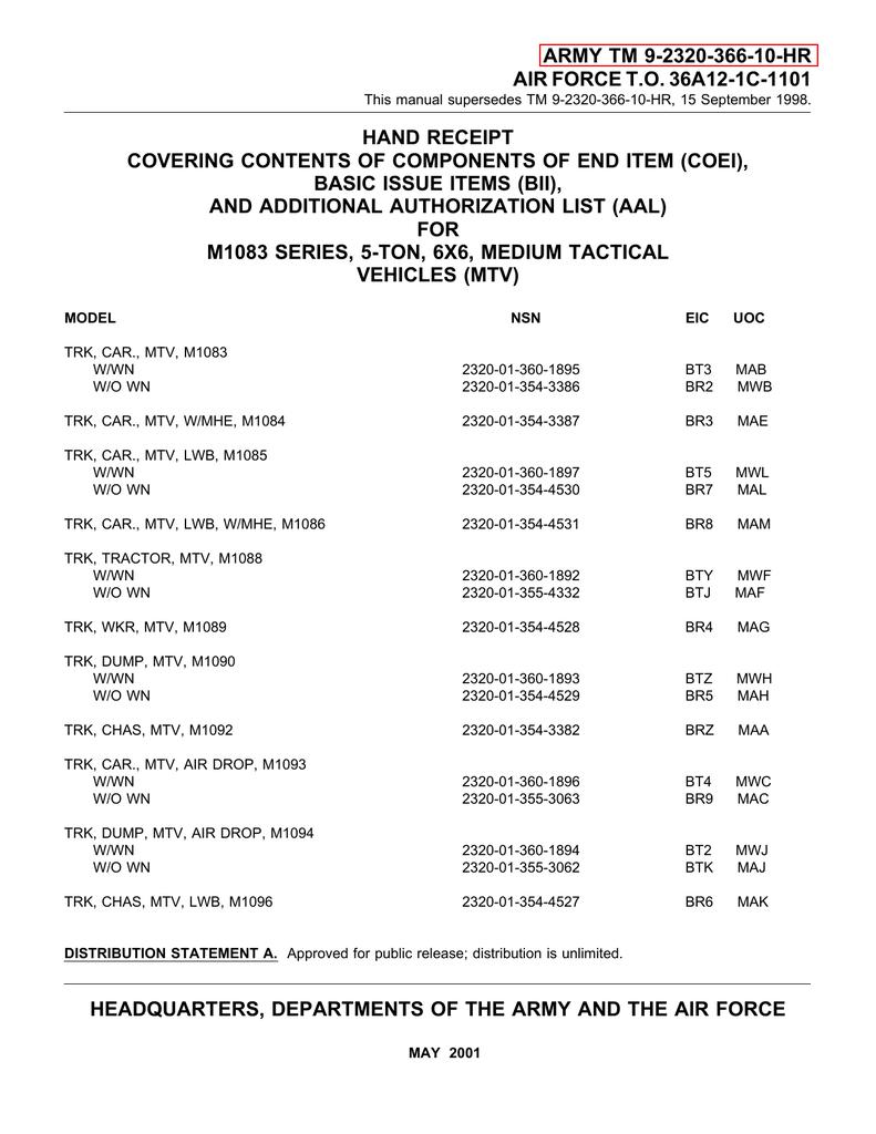 TM-9-2320-366-10-HR | manualzz com