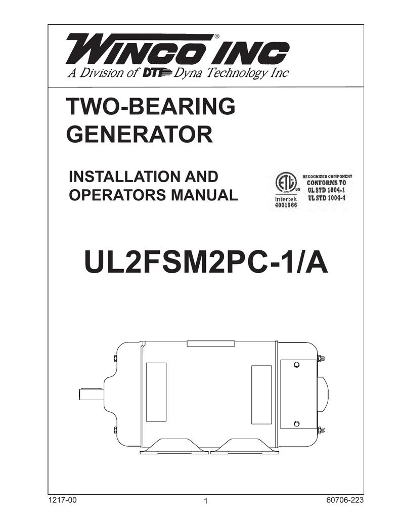 Winco Generator Wiring Diagram Opinions About Ul 2fsm2pc 1 Operation Manual Manualzz Com Rh Parts Transfer Switch