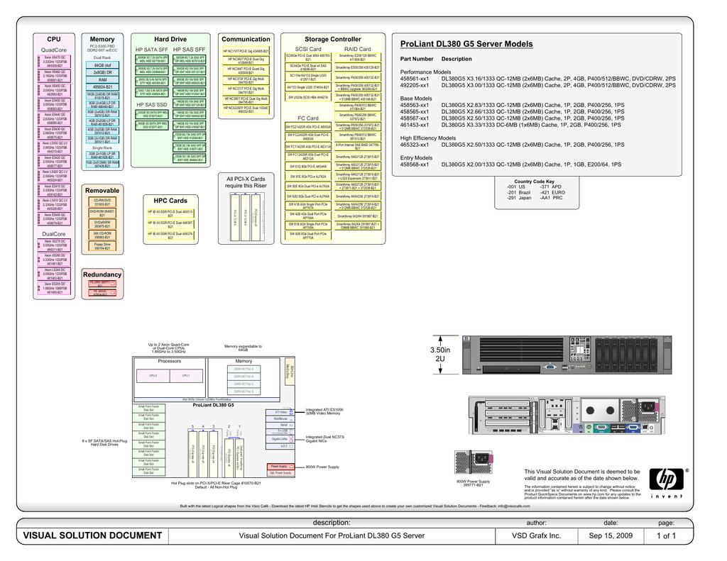 VSD-DL380 G5 | manualzz com