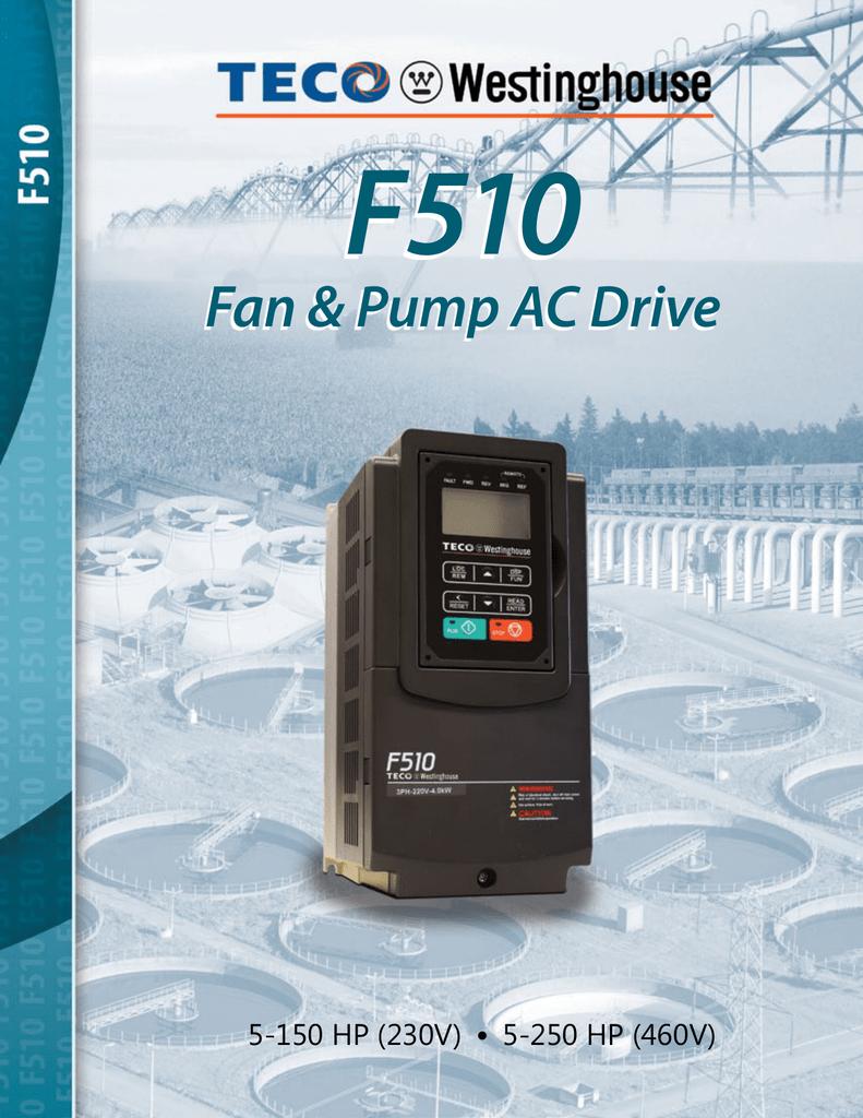 F510 Fan Pump AC Drives brochure | manualzz.com F Wiring Diagram on