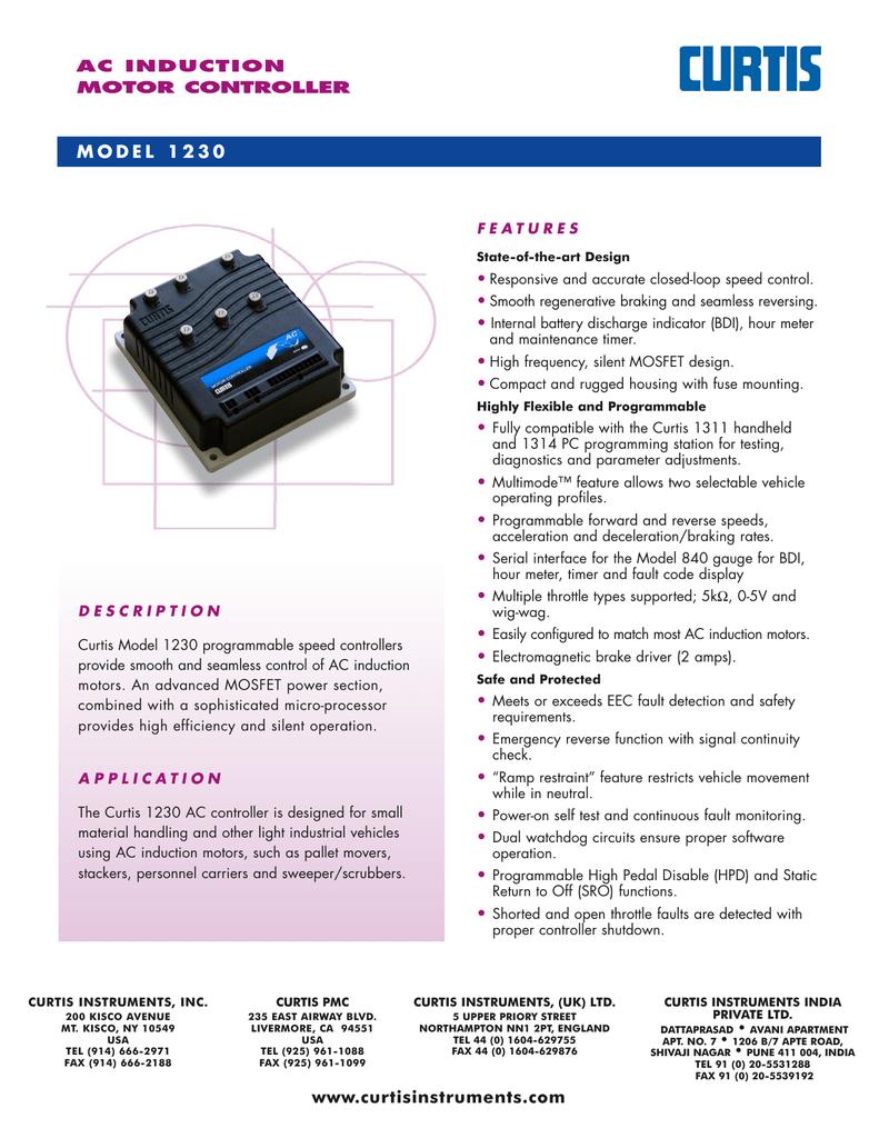 ACコントローラ/モデル1230 | manualzz com
