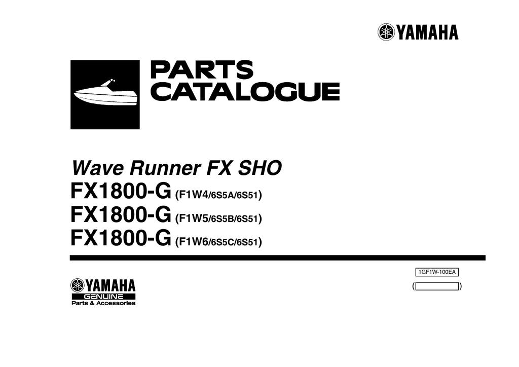 Yamaha F1W-U591D-00-00 PACKING CASE