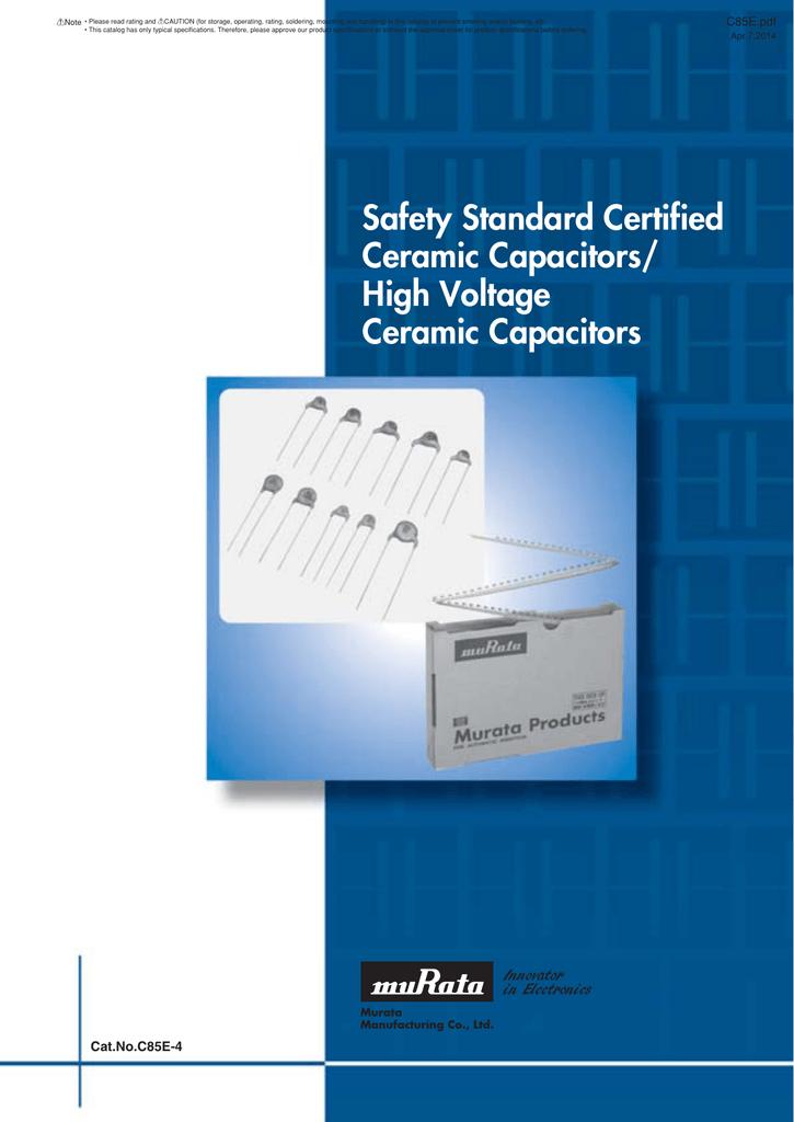 1000pc Disc Ceramic Capacitor 68pF 1KV J ±5/% SL RoHS Taiwan
