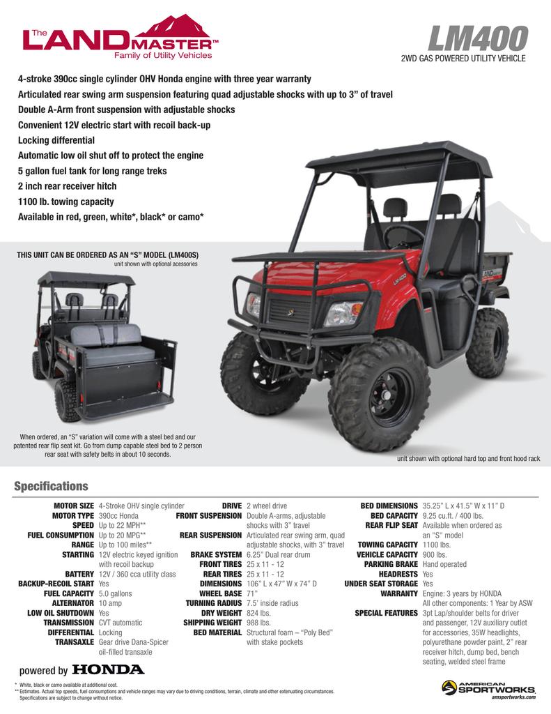 LM400 | manualzz com