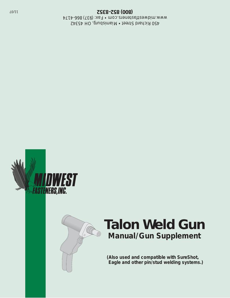 Talon Cd Gun Manual Welding Diagram