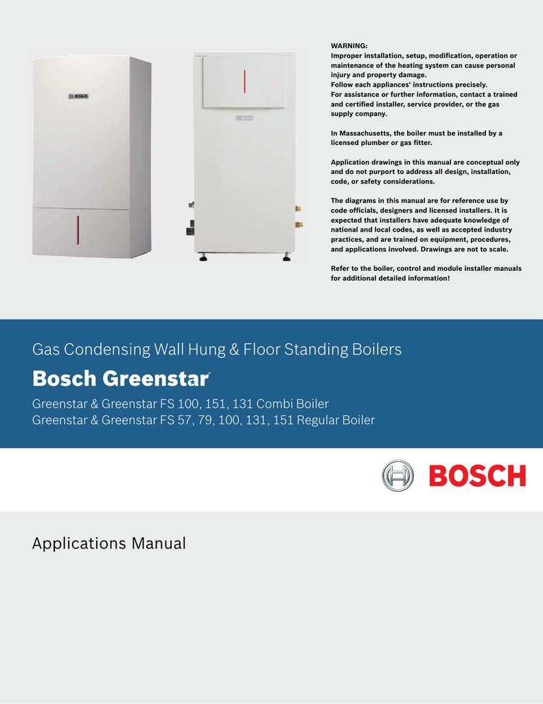 Bosch Greenstar CRC100 Comfort Room Control