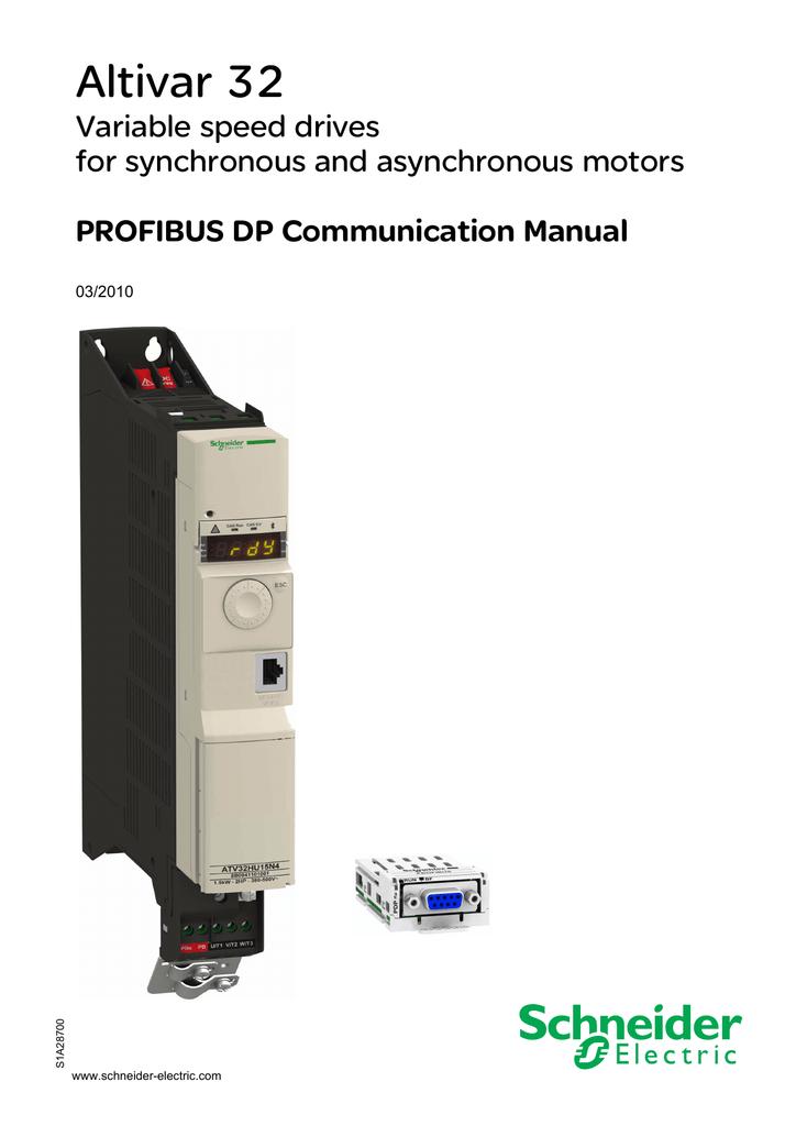 ATV32 Profibus DP | manualzz com