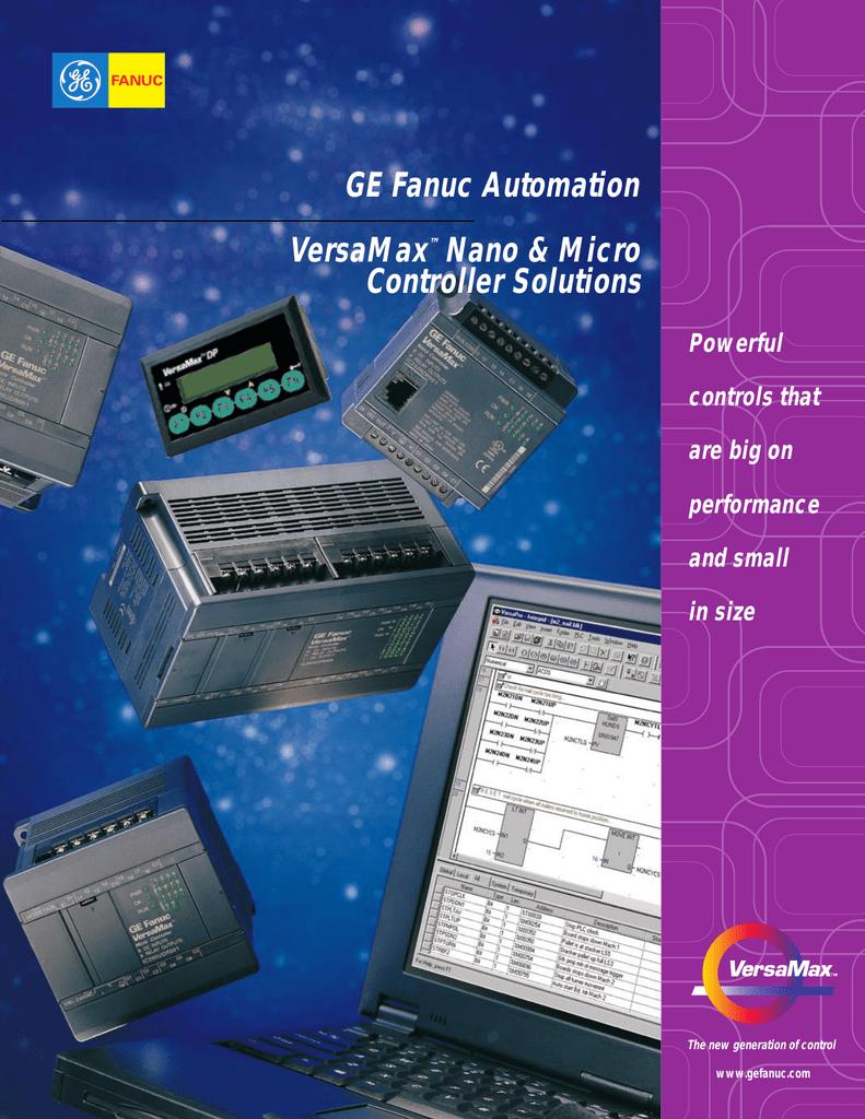 GE Fanuc Automation VersaMax Nano &
