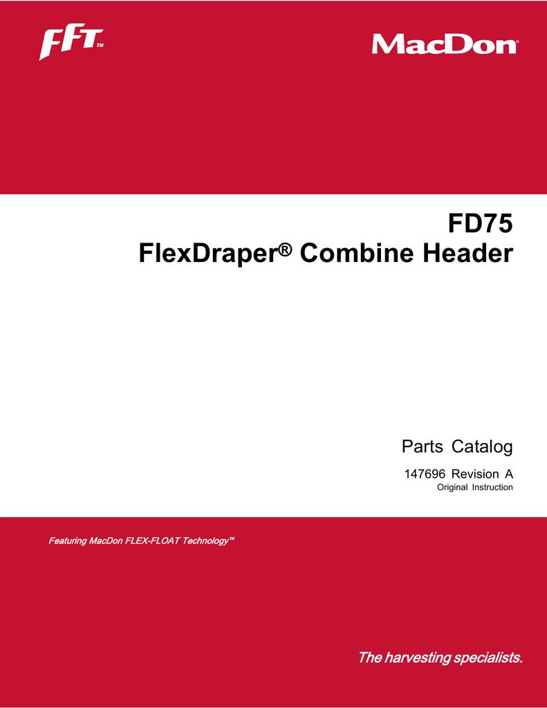 FD75 Parts Catalog | manualzz com