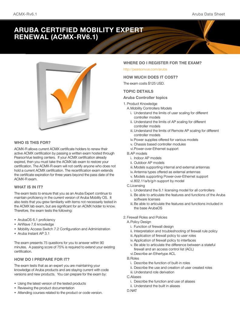 Aruba Certification Image collections - creative certificate design