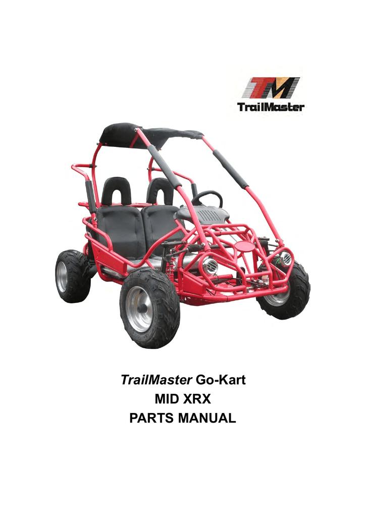 TrailMaster Mid XRS /& Mid XRX  Rear Axle Bearing Mounting Flange