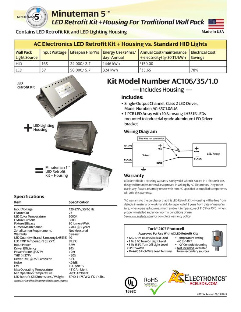 AC Electronics AC106/35/1 0 Spec Sheet | manualzz com