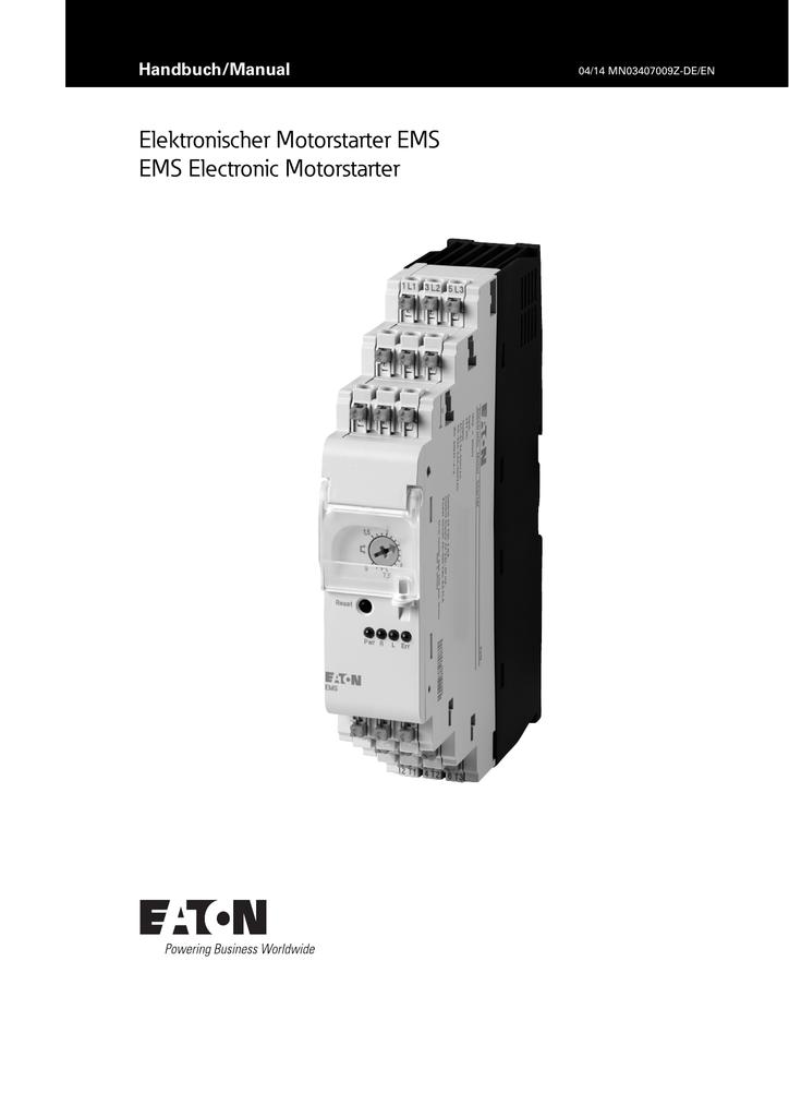 Ziemlich Eaton Handbuch Fotos - Elektrische ...