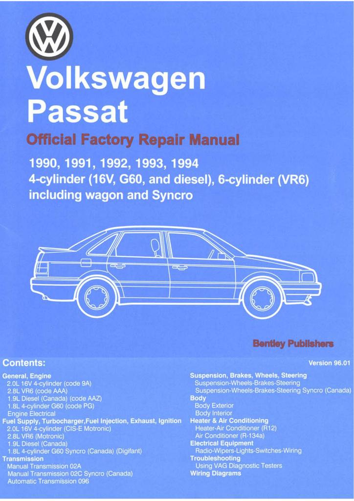Volkswagen 2 0l Engine 9a Cylinder Heads Valve Drive Eng Manualzz