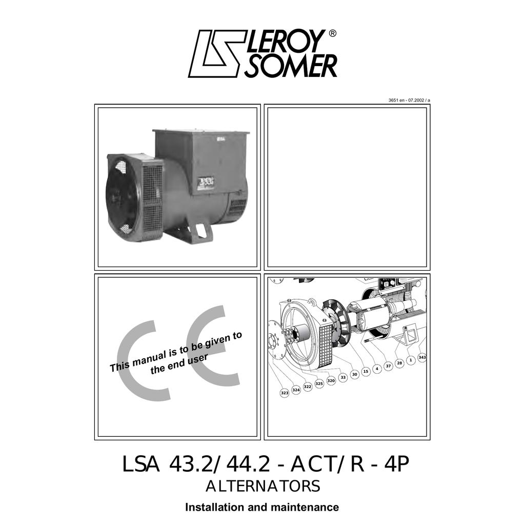 leroy somer lsa 43 2 l8 manualzz com Stamford Newage Wiring Diagrams