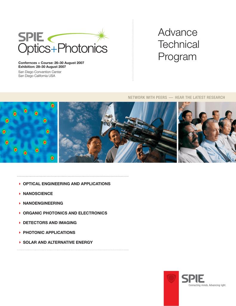 Advanced Technical Program