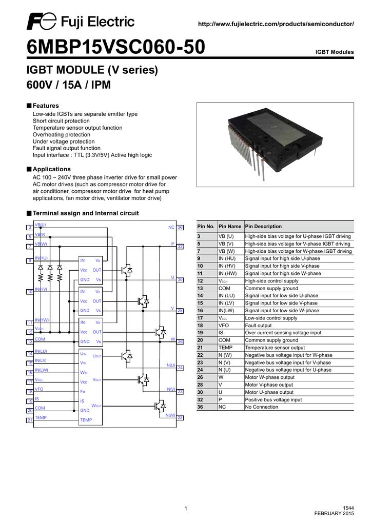 6MBP15VSC060-50 | manualzz com