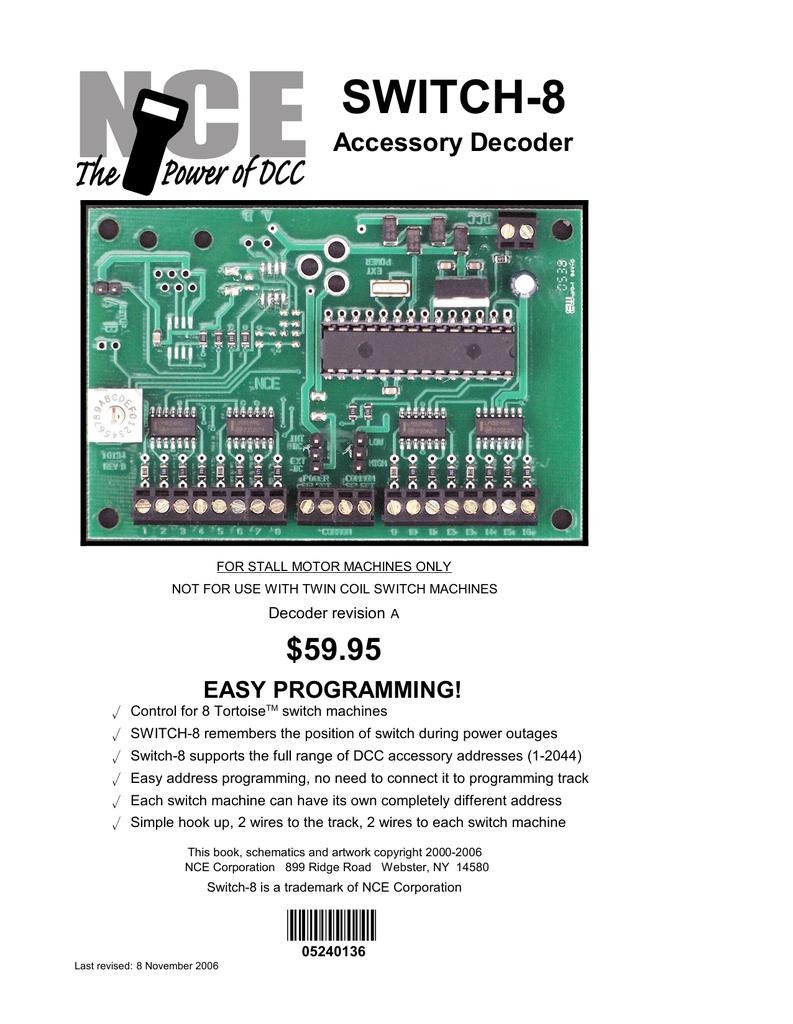 Dcc Decoder Wiring