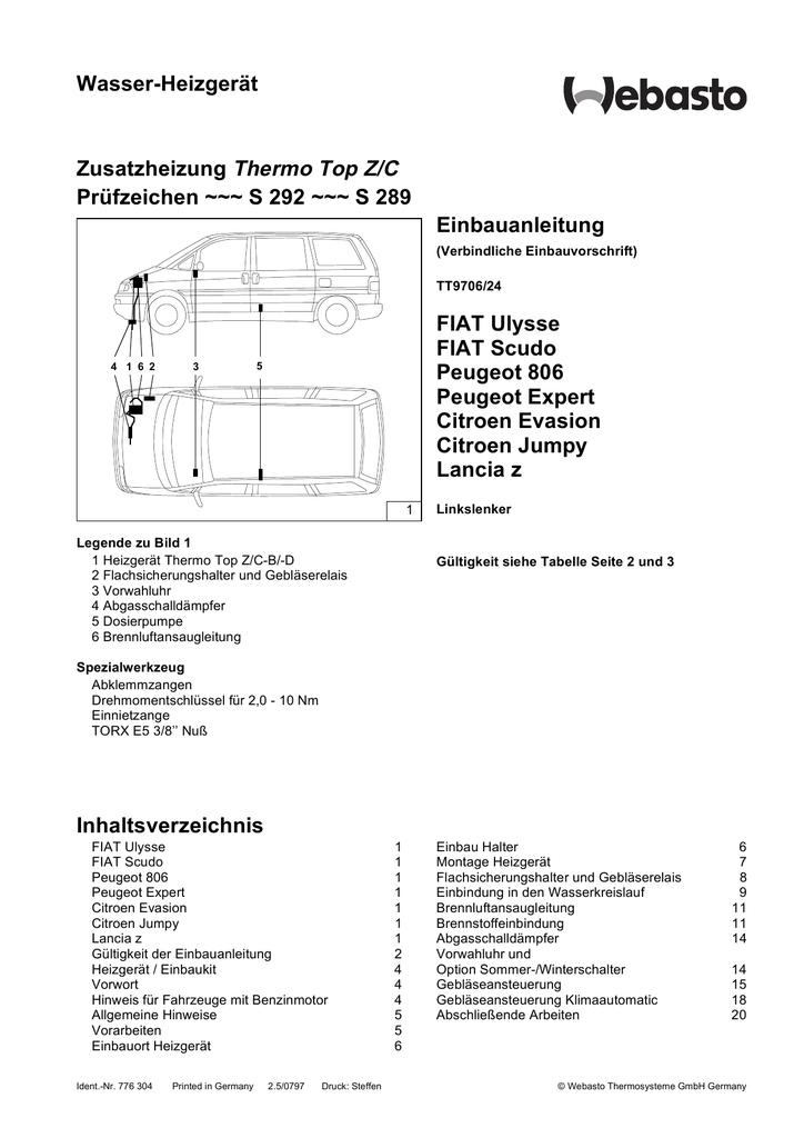 RADHAUSSCHALE VORN RECHTS FÜR PEUGEOT EXPERT VF3