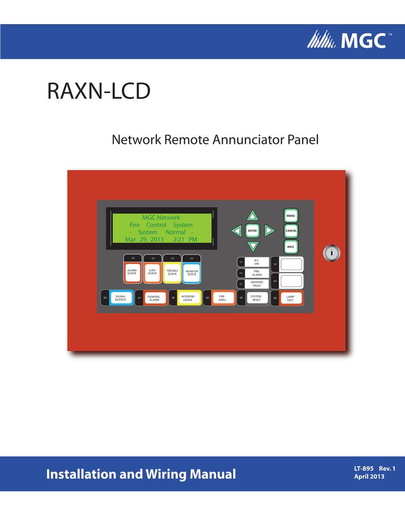 mgc wiring schematic lt 895 raxn lcd installation manual  en  manualzz  lt 895 raxn lcd installation manual  en