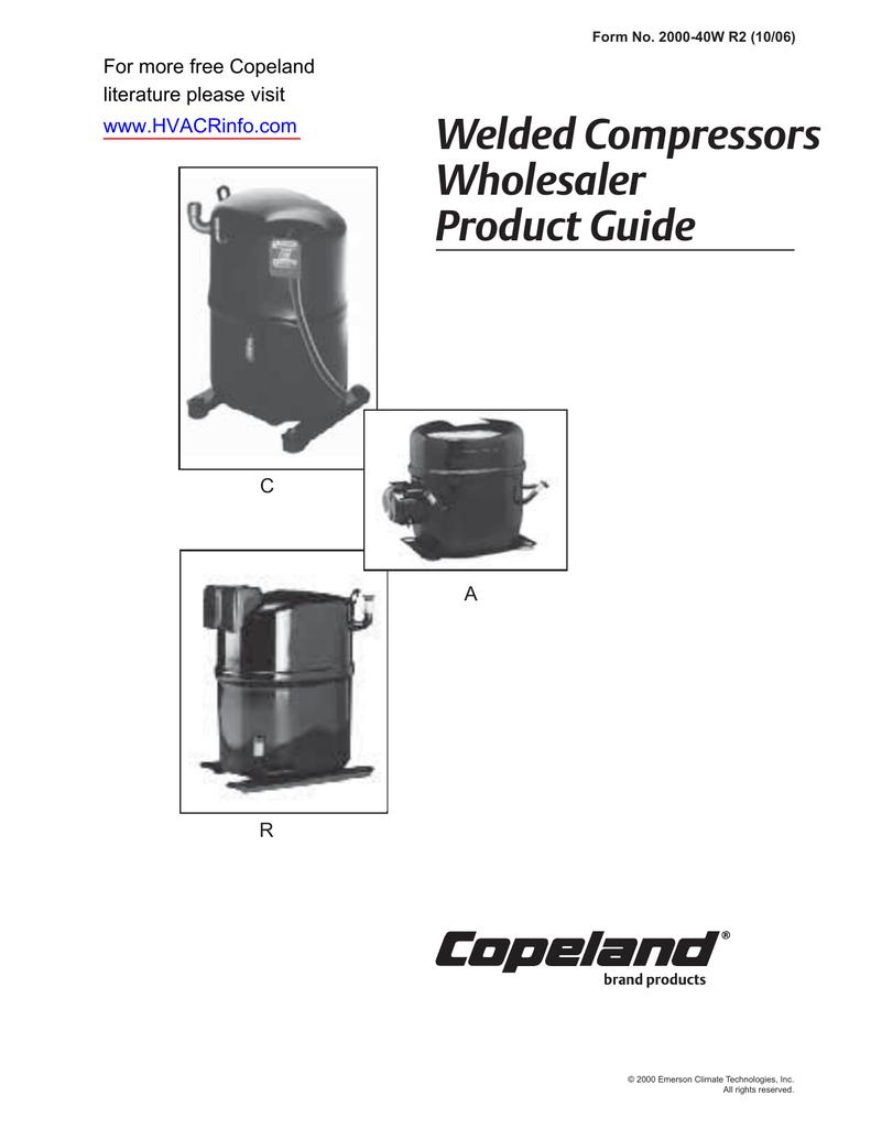 wiring diagram for copeland compressor cr30k6 copeland