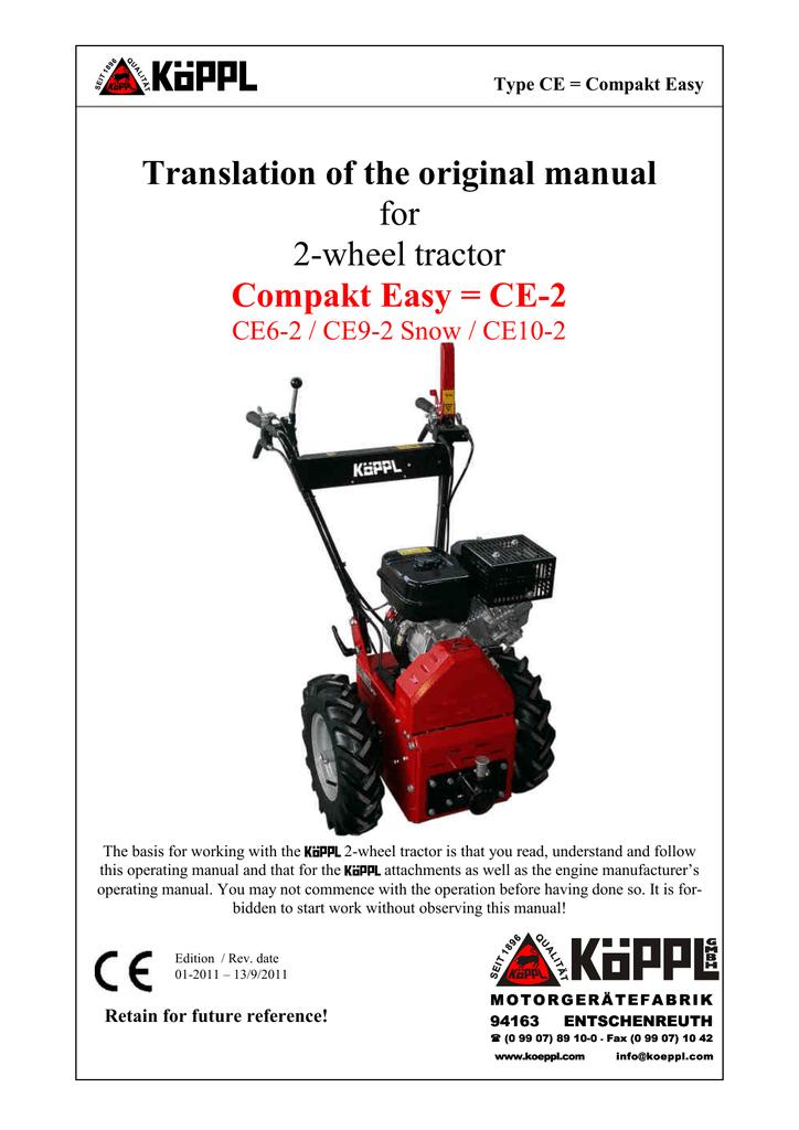 Koeppl Compakt Easy (pdf | manualzz com
