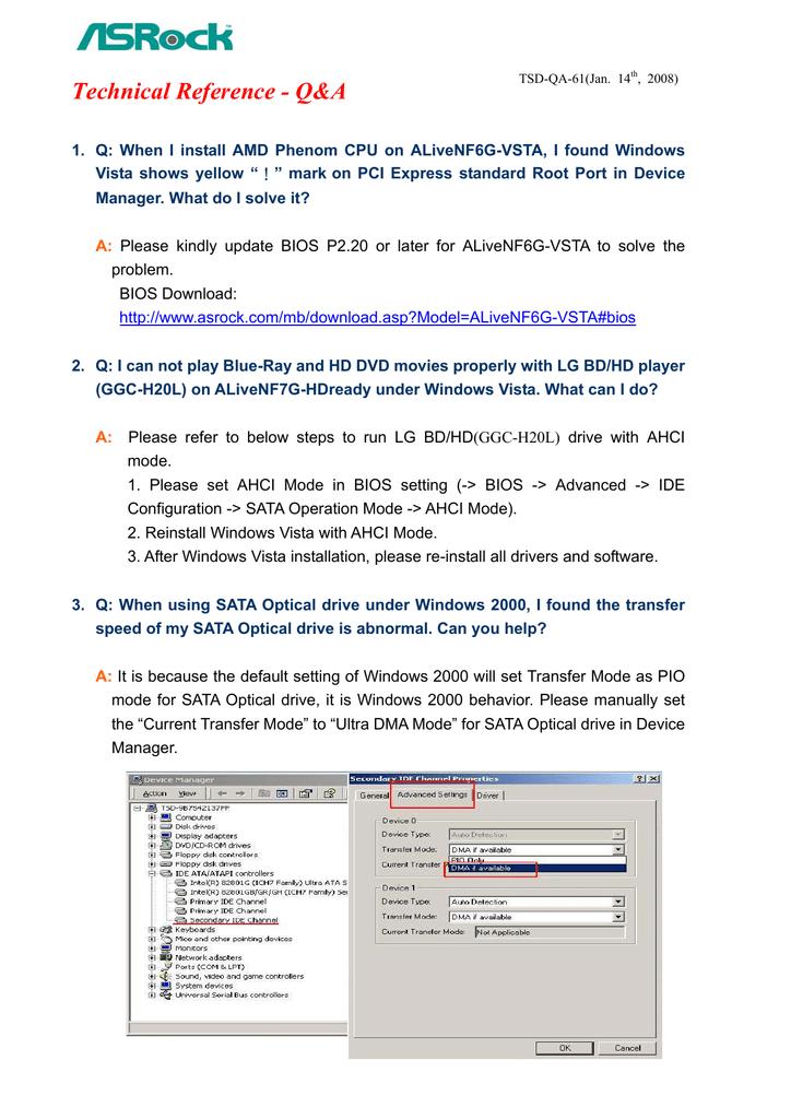 Technical Reference - Q&A | manualzz com