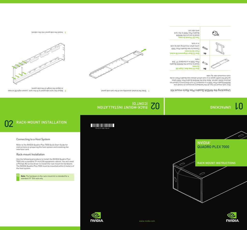 Quadro Plex 7000 Rack Mount Guide | manualzz com