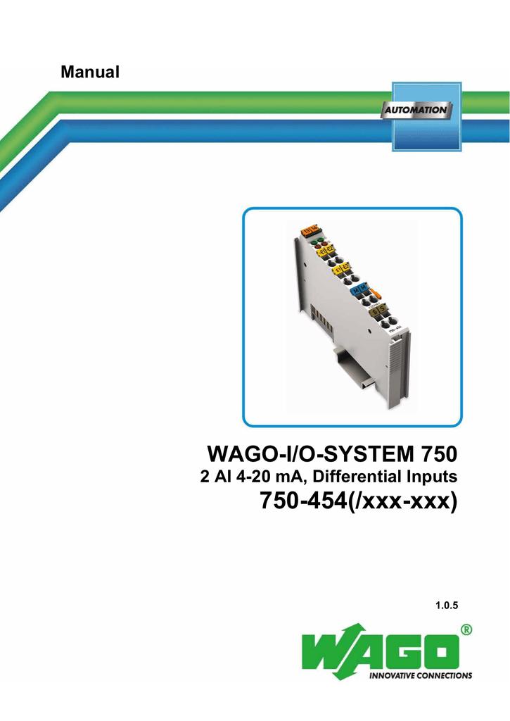 Wago 750-600 kleme end módulos