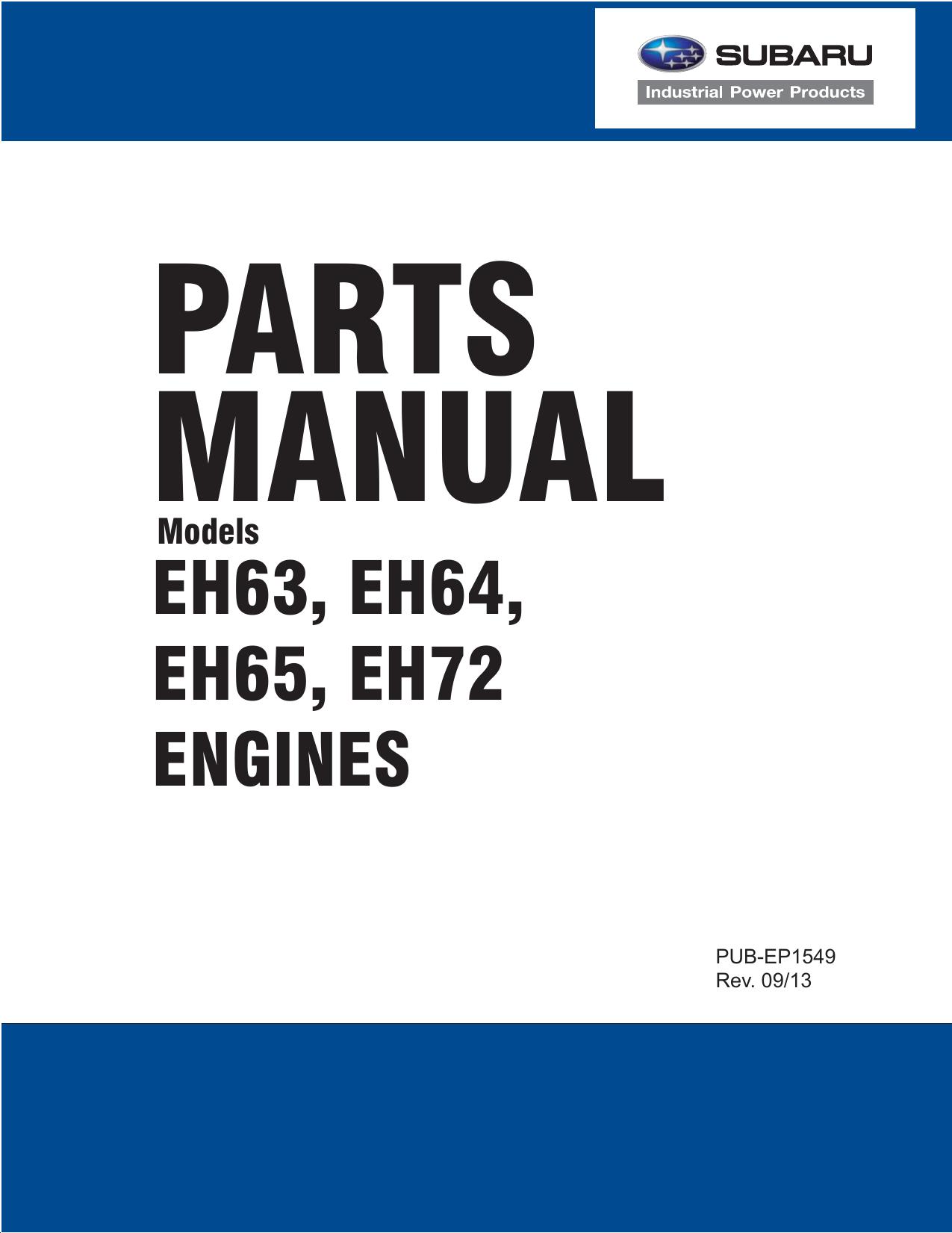 Subaru 653cc Parts Manual Single Barrel Carb Engine Diagram