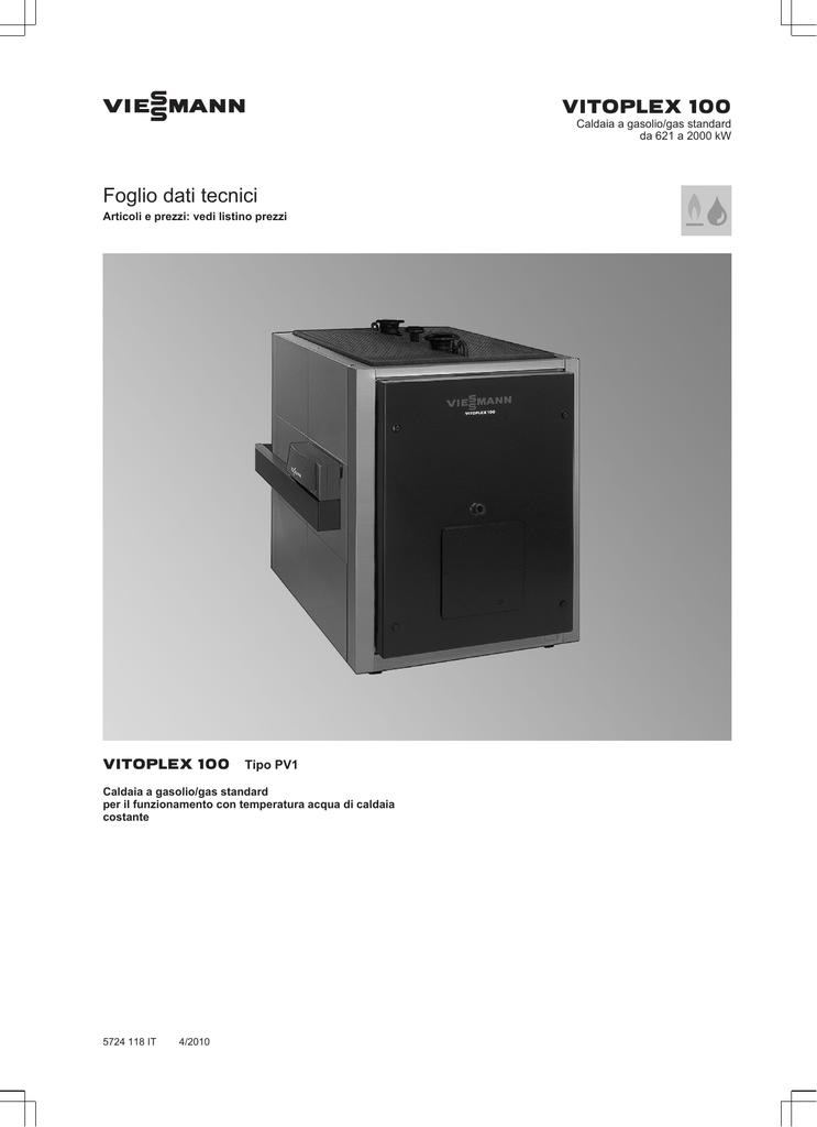 Viessmann Vitoplex 100 Pv1 Manualzz Com