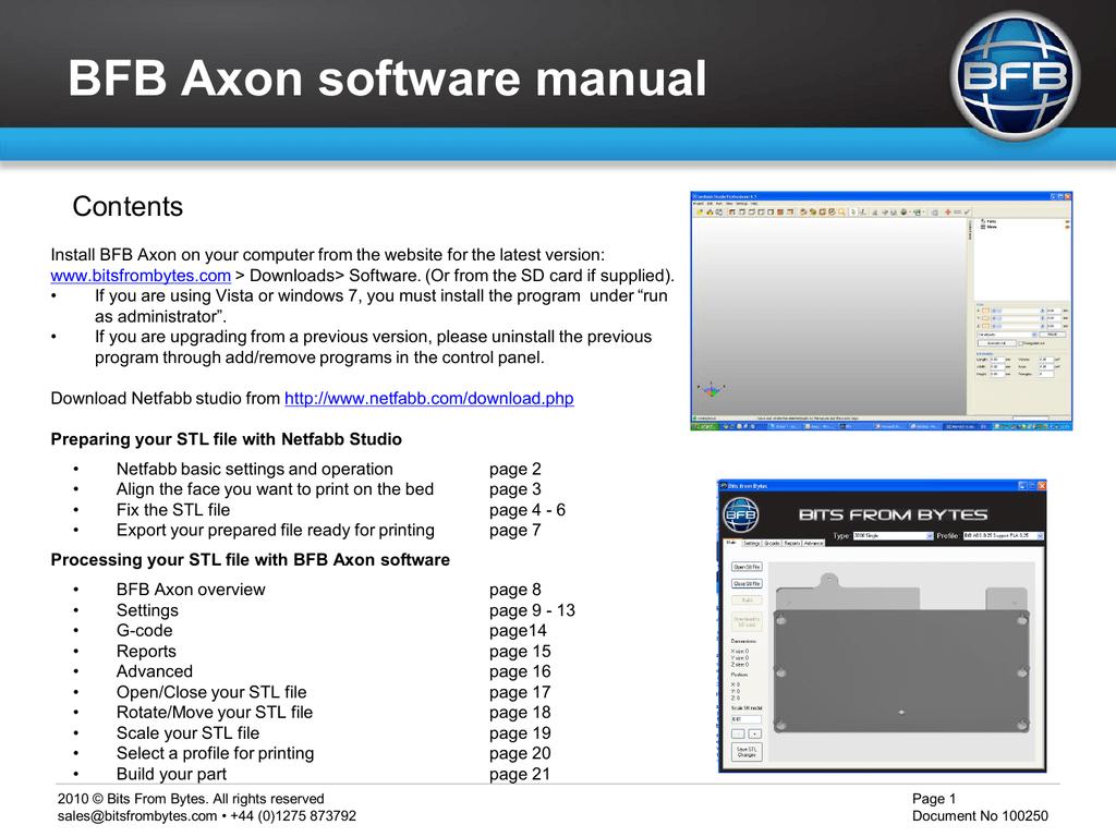 Axon 1 1 Software Manual   manualzz com