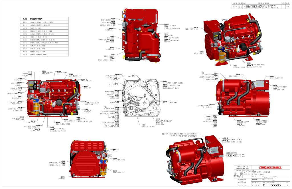 Westerbeke Rotor 43050