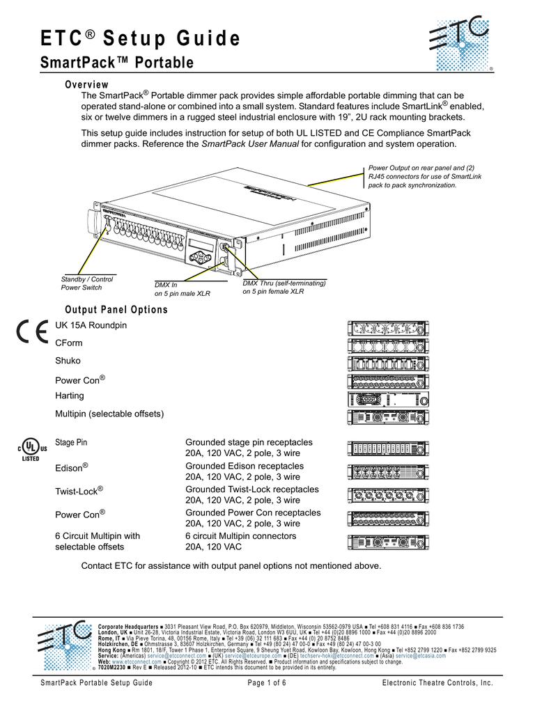 SmartPack Portable Pack Setup Guide   manualzz com