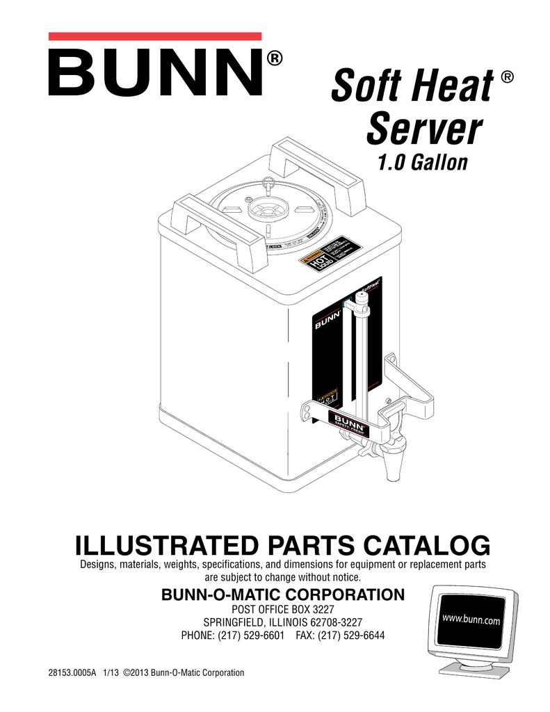 Handle Server Black Bunn 26181.1000 Kit