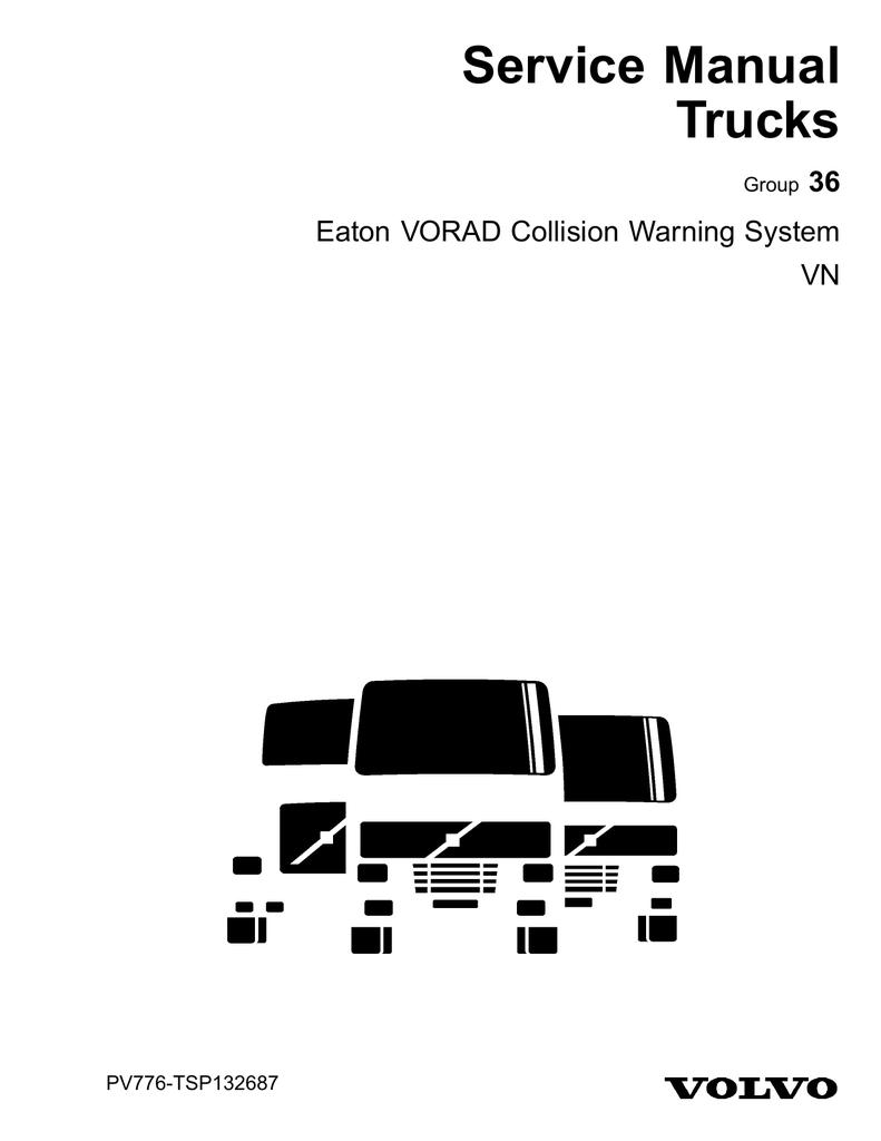 Eaton VORAD Collision Warning System | manualzz com