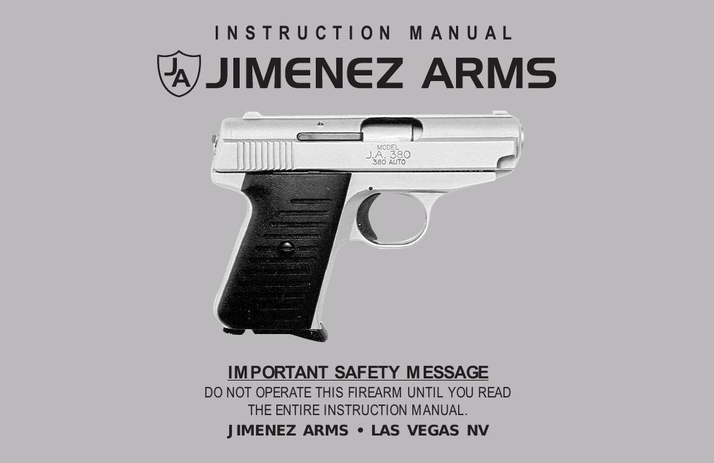 Jimenez Arms JA380   manualzz com